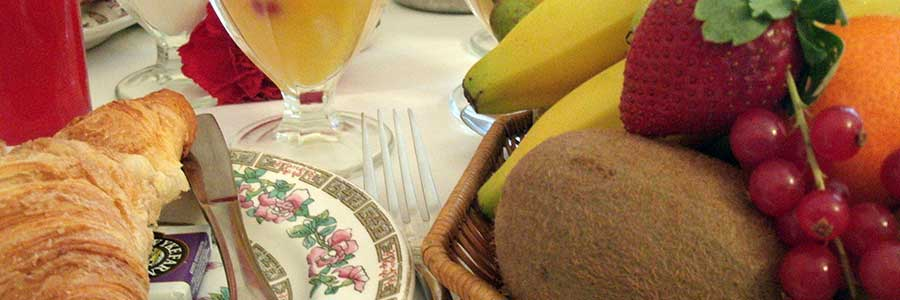Healthy and fulfilling breakfasts at Glenleigh House Marazion
